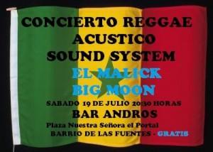 BIG MOON Y EL MALICK @ Bar Andros | Zaragoza | Aragón | España