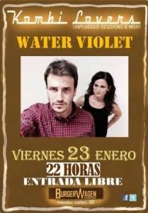 WATER VIOLET @ BURGER WAGEN | Zaragoza | Aragón | España