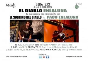 EL SOBRINO DEL DIABLO Y PACO ENLALUNA @ CAFE TNT ROCK | Zaragoza | Zaragoza | España