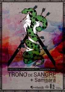 TRONO DE SANGRE + SAMSARA  @ AVV Arrebato  | Zaragoza | Aragón | España