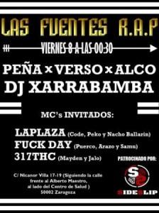 LAS FUENTES R.A.P. @ BAR CUE | Zaragoza | Aragón | España