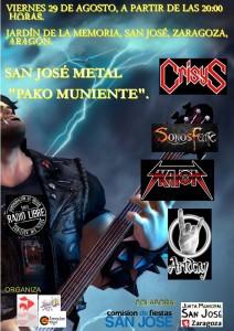 SAN JOSE METAL @ Parque Jardin De La Memoria 50007 Zaragoza | Zaragoza | Aragón | España