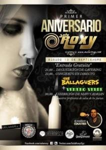 VENENO VERDE + THE BALLAGUERS @ SALA ROXY | Zaragoza | Aragón | España