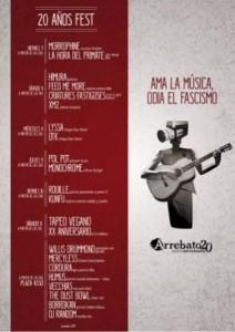 ARREBATO FIESTAS DEL PILAR @ SALA ARREBATO | Zaragoza | Aragón | España