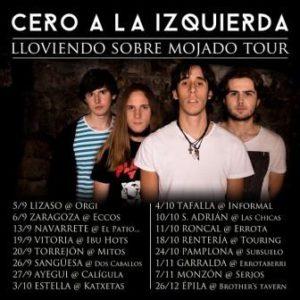 CERO A LA IZQUIERDA + LOS SECRETOS DE TU ALMOHADA + CUATRO GRAMOS @ PUB ECCOS | Zaragoza | Aragón | España
