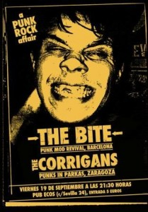 THE BITE + THE CORRIGANS @ SALA ECCOS | Zaragoza | Aragón | España