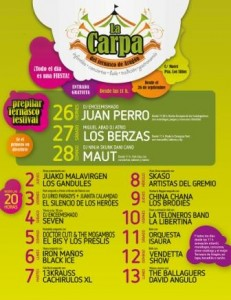CARPA DEL TERNASCO FIESTAS DEL PILAR @ CARPA DEL TERNASCO | Zaragoza | Aragón | España