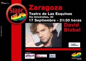 DAVID BISBAL @ Teatro de las Esquinas  | Zaragoza | Aragón | España