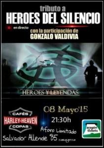 HÉROES Y LEYENDAS @ HARLEY HEAVEN | Zaragoza | Aragón | España