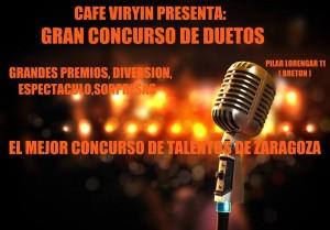 CONCURSO DE DUETOS 2014 @ Cafe Viryin | Zaragoza | Aragón | España