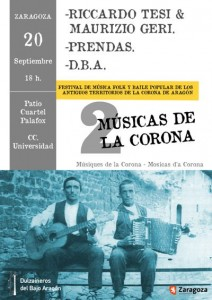 II Festival Músicas de la Corona de Aragón @ Centro Cívico Universidad | Ciudad de México | Distrito Federal | México