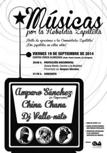 Músicas por la rebeldía zapatista @ CC. Almozara  | Zaragoza | Aragón | España