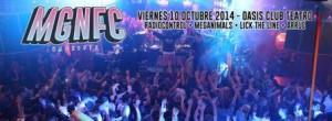 MGNFC: Radiocontrol + Meganimals + Lick The Line + Arrue @ OASIS CLUB TEATRO | Zaragoza | Aragón | España