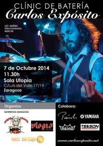 CARLOS EXPOSITO @ Sala Utopia | Zaragoza | Aragón | España