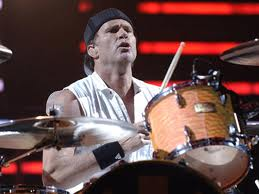 Chad Smith a la bateria