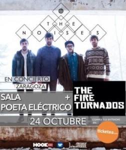 THE NOISES + THE FIRE TORNADOS @ EL POETA ELÉCTRICO | Zaragoza | Aragón | España
