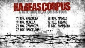 HABEAS CORPUS + PROYECTO HOMBRE @ SALA LOPEZ | Zaragoza | Aragón | España