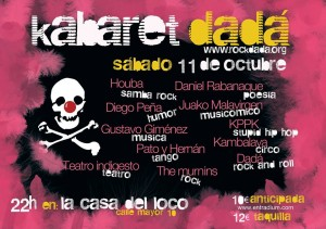 KABARET DADÁ @ La Casa del Loco  | Zaragoza | Aragón | España