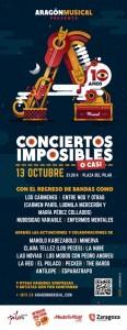 CONCIERTOS IMPOSIBLES (O CASI) @ Plaza del pilar | Zaragoza | Aragón | España