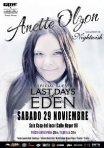 ANETTE OLZON @ LA CASA DEL LOCO | Zaragoza | Aragón | España