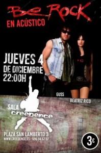 BE ROCK @ SALA CREEDENCE | Zaragoza | Aragón | España