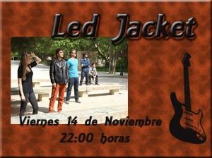 LED JACKET @ CAFÉ DUBLÍN | Zaragoza | Aragón | España
