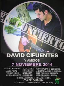 DAVID CIFUENTES & AMIGOS @ CAFÉ DUBLÍN | Zaragoza | Aragón | España