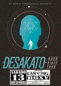 DESAKATO + LÁD CÚIG @ SALA ROXY | Zaragoza | Aragón | España