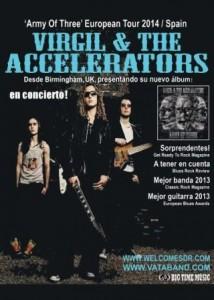 VIRGIL & THE ACCELERATORS @ SALA ROXY | Zaragoza | Aragón | España