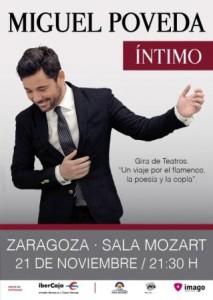 MIGUEL POVEDA @ SALA MOZART | Zaragoza | Aragón | España