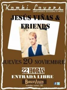 JESUS VIÑAS & FRIENDS @ BURGER WAGEN | Zaragoza | Aragón | España