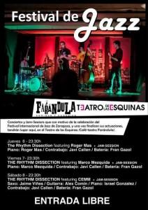 FESTIVAL DE JAZZ: The Rhythm Dissection @ Teatro de las Esquinas, | Zaragoza | Aragón | España