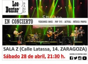 LEO DEXTER BAND @ SALA ZETA   Zaragoza   Aragón   España