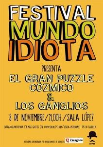 LOS GANGLIOS + EL GRAN PUZZLE CÓZMICO @ Sala López | Zaragoza | Aragón | España