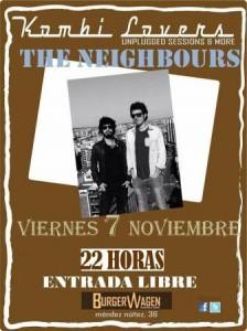 THE NEIGHBOURS @ BURGER WAGEN | Zaragoza | Aragón | España