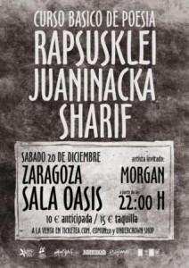 RAPSUSKLEI, JUANINACKA & SHARIF @ OASIS CLUB TEATRO | Zaragoza | Aragón | España