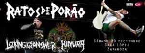 RATOS DE PORAO + LOOKING FOR AN ANSWER + HIMURA @ SALA LÓPEZ | Zaragoza | Aragón | España