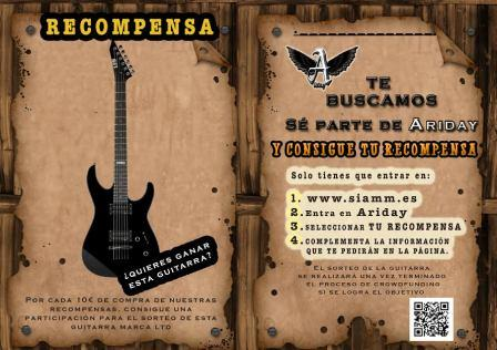 Sorteo Guitarra Ariday