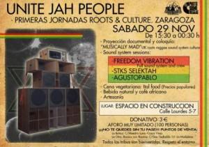 UNITE JAH PEOPLE @ ESPACIO EN CONSTRUCCIÓN | Zaragoza | Aragón | España
