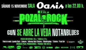 GUN + SE ABRE LA VEDA+NOTANBLUES @ Oasis Club Teatro  | Zaragoza | Aragón | España