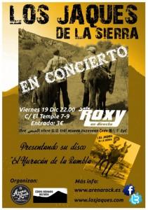 LOS JAQUES DE LA SIERRA @ SALA ROXY | Zaragoza | Aragón | España