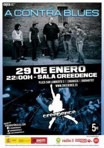 A CONTRA BLUES @ SALA CREEDENCE | Zaragoza | Aragón | España