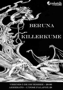 BERUNA + KILLERKUME @ AVV Arrebato  | Zaragoza | Aragón | España