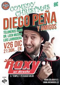 COMEDY CHRISTMAS CON DIEGO PEÑA Y AMIGOS @ SALA ROXY | Zaragoza | Aragón | España