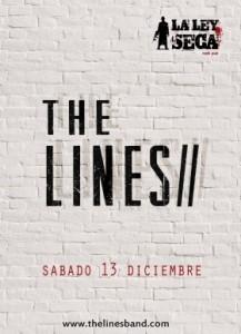 THE LINES @ LA LEY SECA | Zaragoza | Aragón | España