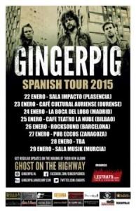 GINGERPIG @ PUB ECCOS | Zaragoza | Aragón | España