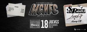 MGNFC pres. SPACE ELEPHANTS, LEY DJ & HENRY OTS @ OASIS CLUB TEATRO | Zaragoza | Aragón | España