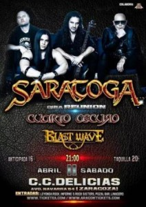 SARATOGA REUNION 20 ANIVERSARIO @ CENTRO CÍVICO DELICIAS | Zaragoza | Aragón | España