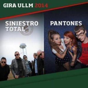 SINIESTRO TOTAL + PANTONES @ SALA OASIS | Zaragoza | Aragón | España