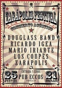 ZARAPOLIS FESTIVAL @ PUB ECCOS | Zaragoza | Aragón | España